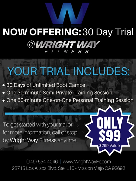 Wright Way Fitness 30 Day Trial