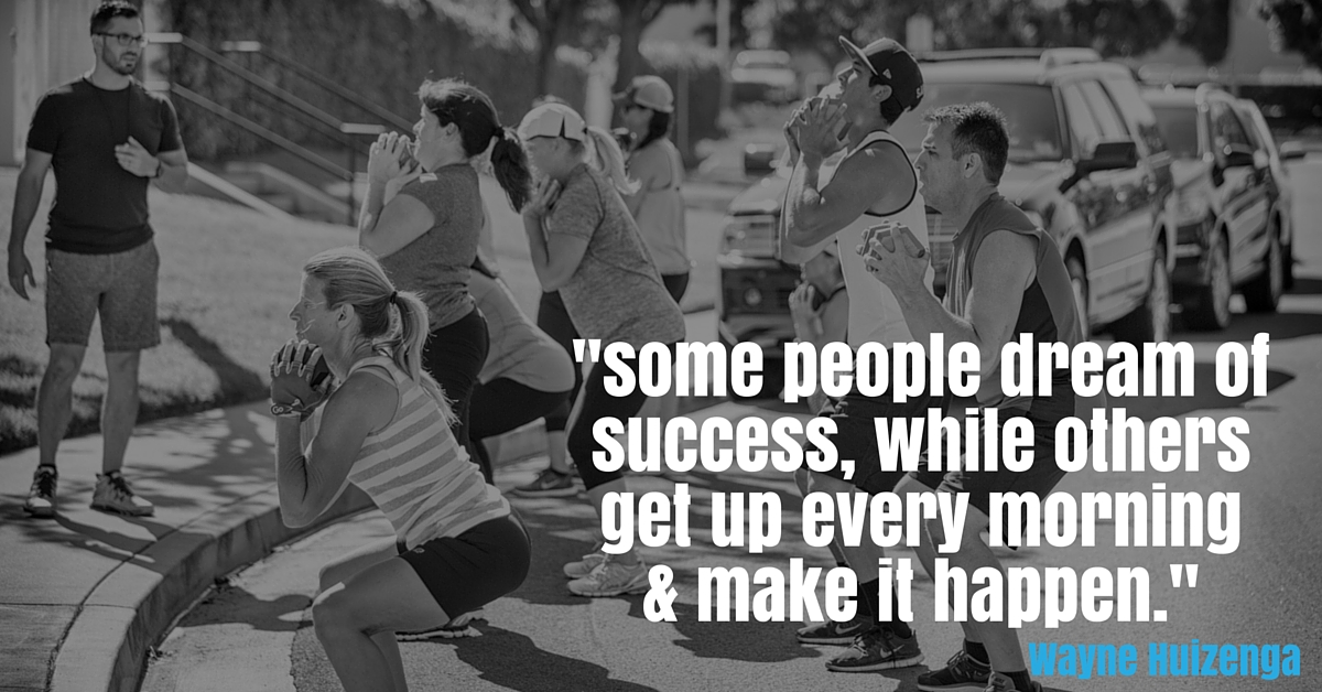 some dream of success while others make it happen -- quote