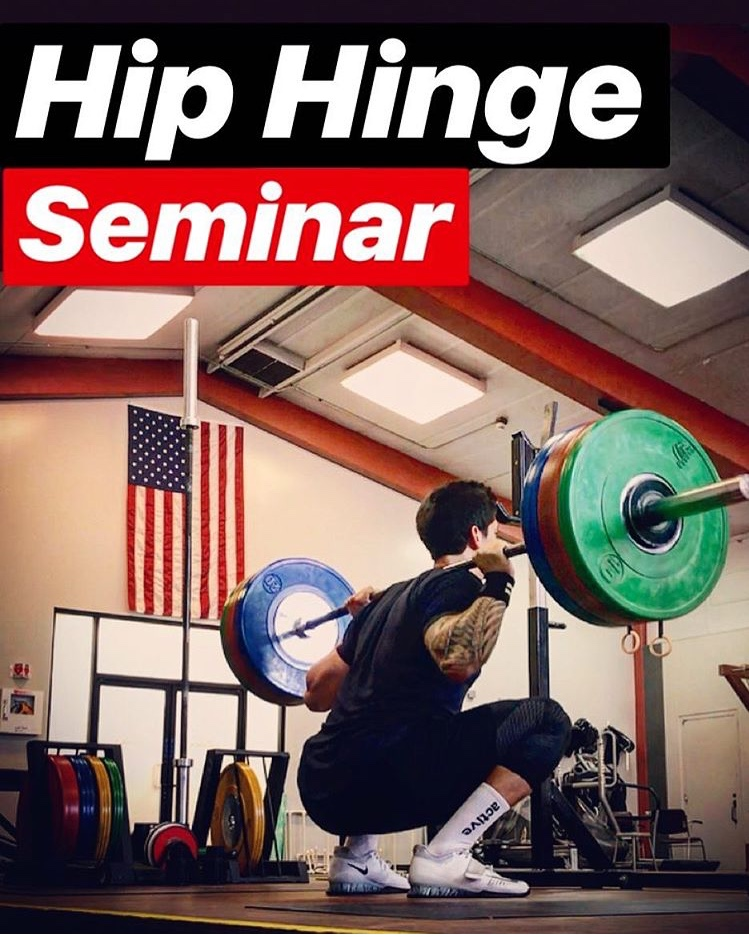 Hip Hinge Seminar with Coach K